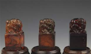 GROUP OF OPTIMIZED AMBER SEAL