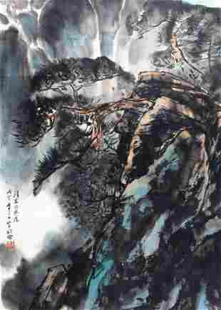 WANG SONG YU CHINESE PAINTING, ATTRIBUTED TO