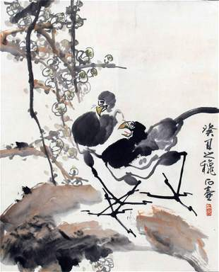SHI HU CHINESE PAINTING, ATTRIBUTED TO