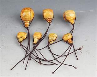 GROUP OF BRACELETS HEADS