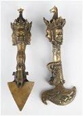 A  TIBETAN BUDDHISM VAJAR AND PHURBA