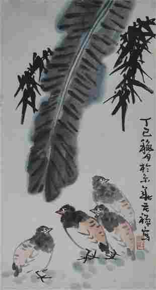 LI KU CHAN CHINESE PAINTING, ATTRIBUTED TO