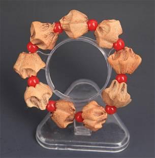 A FINE BUDHI SEED BRACELETS