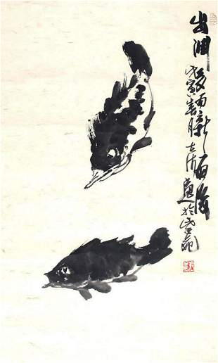 ZHANG LI CHEN CHINESE PAINTING, ATTRIBUTED TO