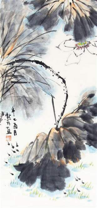 JIN MO RU CHINESE PAINTING, ATTRIBUTED TO