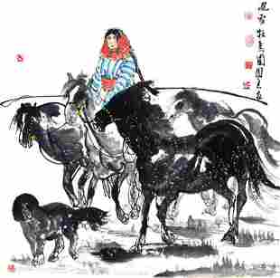 WU TUAN LIANG, CHINESE PAINTING ATTRIBUTED TO