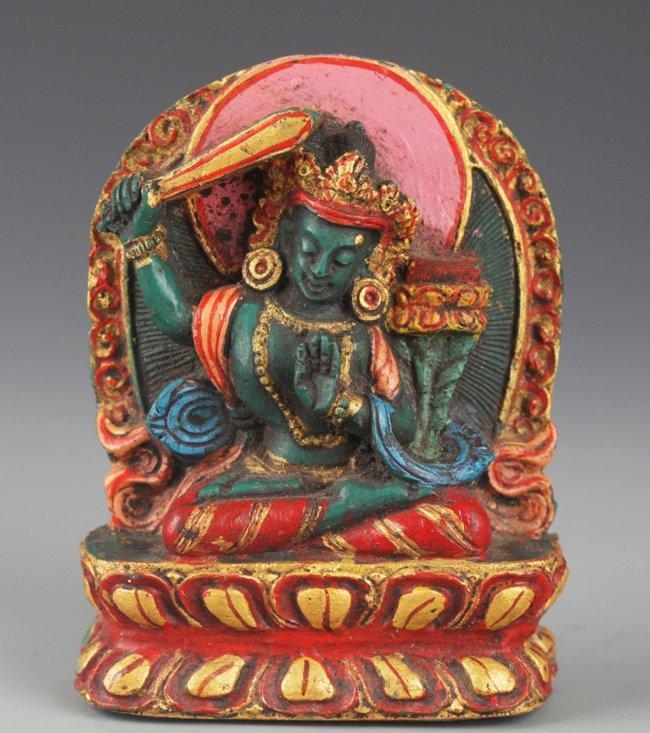 A VERY COLORFUL TIBETAN BUDDHISM