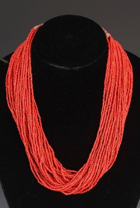 A WELL CORAL NECKLACE