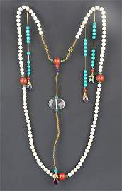 A FINE PEARL ROYAL NECKLACE