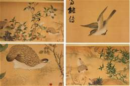 Old Chinese Water Color Painting