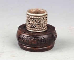 A Silver Plated Ring