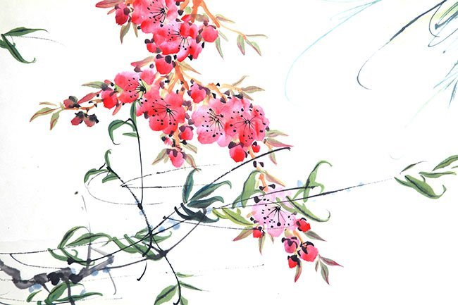 A FINE TANG YUN CHINESE PAINTING (ATTRIBUTED TO,) - 3