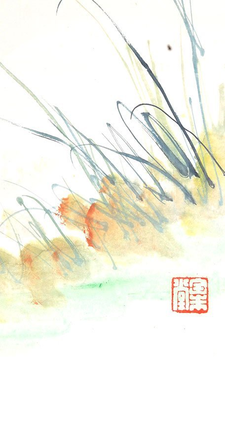 A FINE TANG YUN CHINESE PAINTING (ATTRIBUTED TO,) - 4
