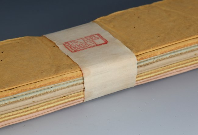 A GROUP OF TEN XUAN PAPER, RICE PAPER - 3