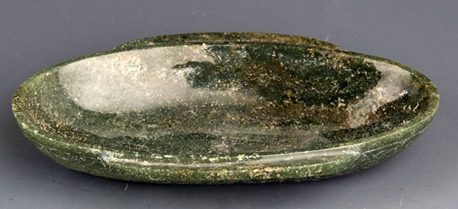 A OLD GREEN COLOR JADE PLATE