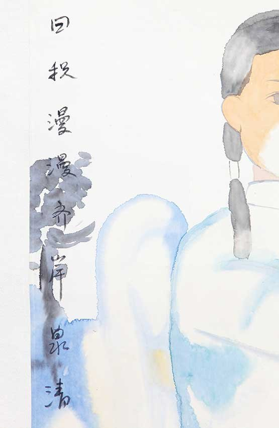 A TIAN LI MING CHINESE PAINTING, ATTRIBUTED TO - 2