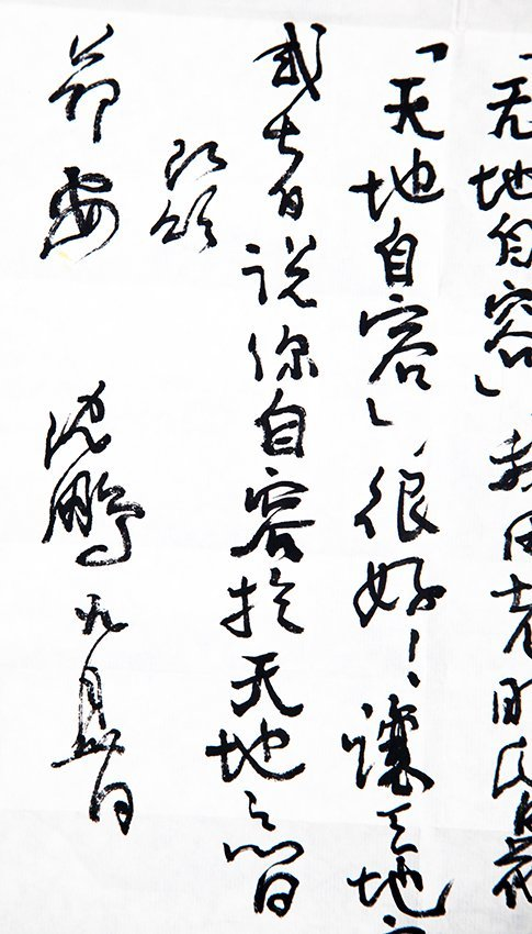 GROUP OF TWO LETTERS FROM A LAO AND SHEN PENG - 8
