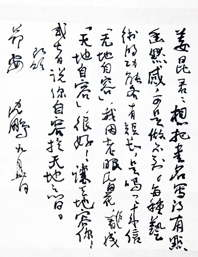 GROUP OF TWO LETTERS FROM A LAO AND SHEN PENG - 9