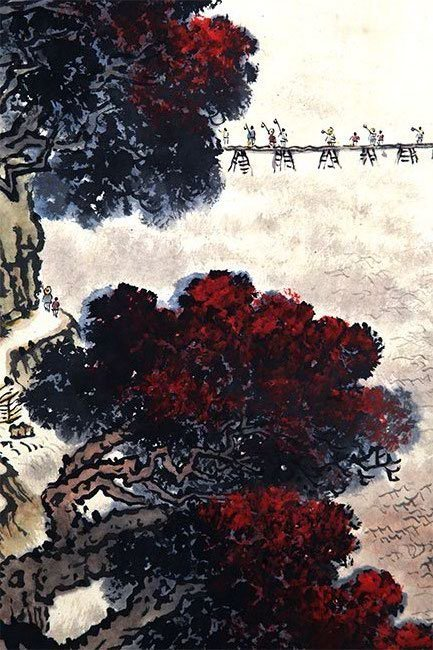 QIAN SONG NIE CHINESE PAINTING (ATTRIBUTED TO ) - 4