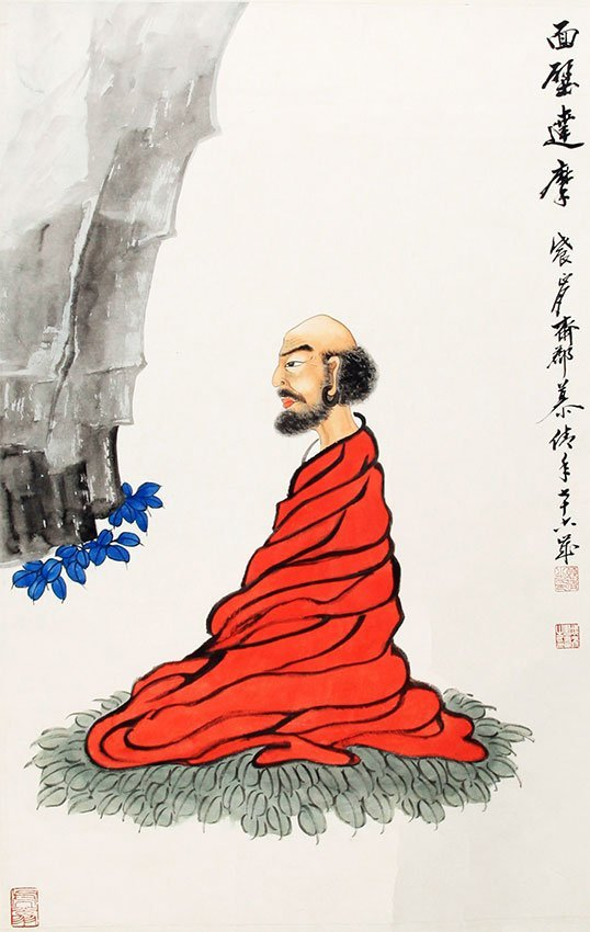 A MU LING FEI CHINESE PAINTING (ATTRIBUTED TO)