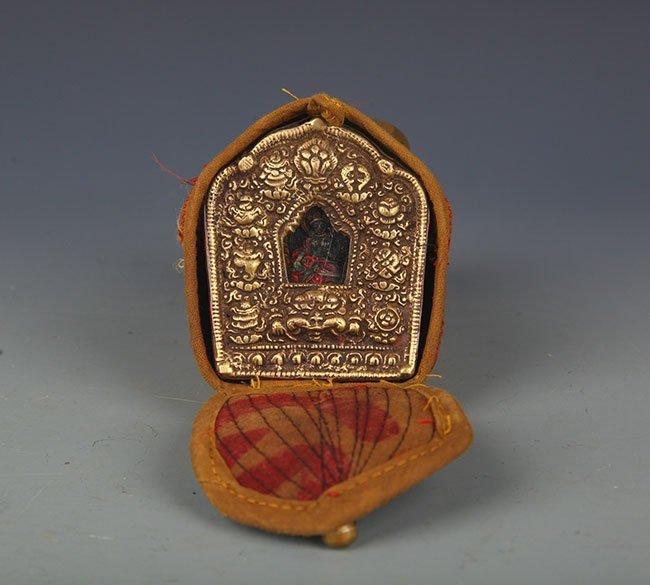 TIBETAN BUDDHISM EMBROIDERY CARRY ON GAO WU GAO WU