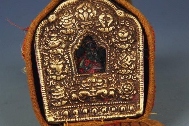 TIBETAN BUDDHISM EMBROIDERY CARRY ON GAO WU GAO WU - 2