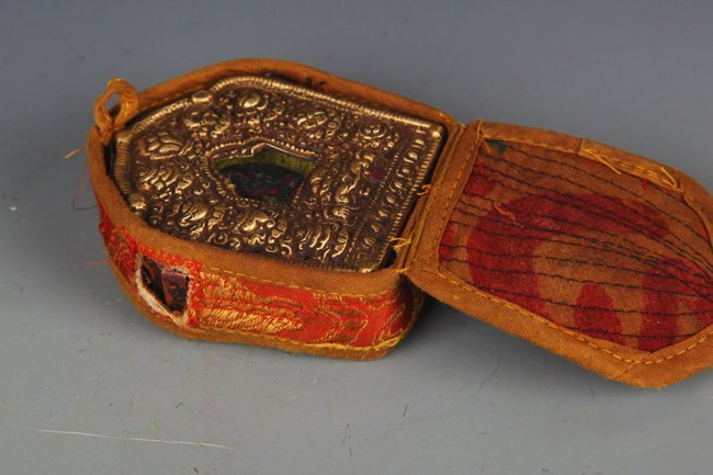 TIBETAN BUDDHISM EMBROIDERY CARRY ON GAO WU GAO WU - 3