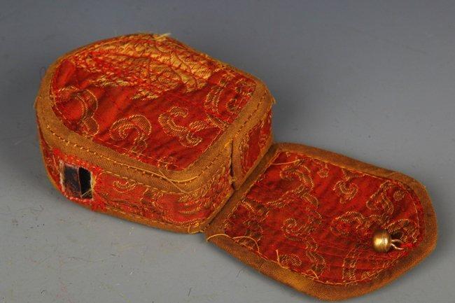 TIBETAN BUDDHISM EMBROIDERY CARRY ON GAO WU GAO WU - 4