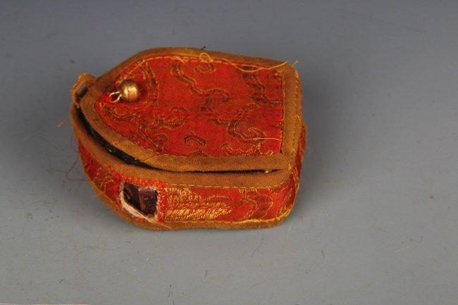 TIBETAN BUDDHISM EMBROIDERY CARRY ON GAO WU GAO WU - 5