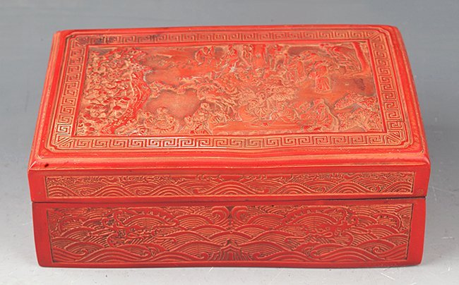 GROUP OF FOUR OLD CHINESE DECORATION - 9