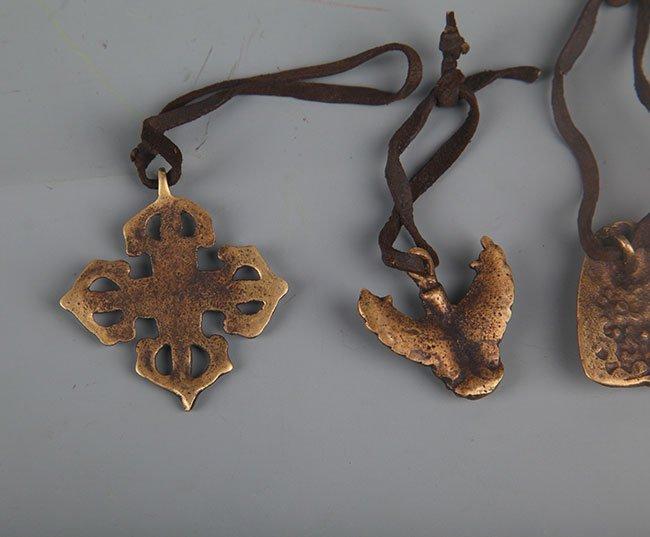 GROUP OF FIVE TIBETAN BUDDHISM VAJRA - 5