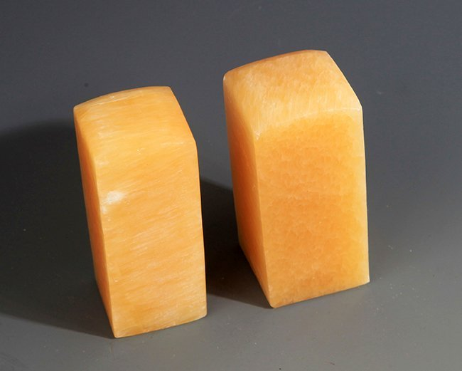 A GROUP OF TWO FU RONG STONE SEAL - 2