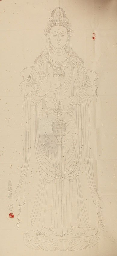 A YANG YUE PU  CHINESE PAINTING, ATTRIBUTED TO