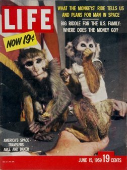 7: June 15, 1959 Life Mag Able & Baker