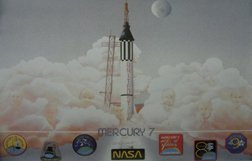 9: Mercury astronauts signed poster