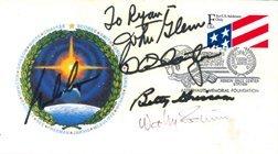 10: Mercury Astronauts signed Cover