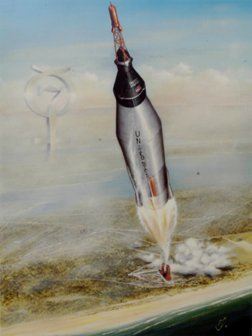 11: Mercury Astronauts Signed Litho