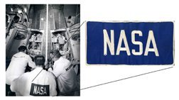 20: NASA Patch for Coveralls