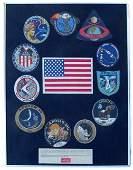234 Set Owens Apollo Beta Cloth Mission Patches