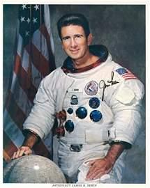 874: Apollo 15 James Irwin Autograph