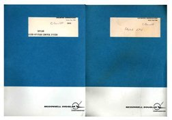 1062: 1971, 'Lot of 2 Skylab 1 Training Manuals