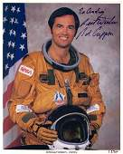 1393: NASA, STS 41G Astronauts Signed Photos