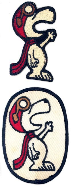 140Y: Lot of 2 Gemini Era Snoopy Patches