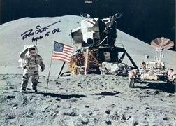 863Y: Apollo 15 David Scott Autograph