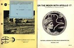 980Y: Lot of 2 Apollo 17 NASA Reports