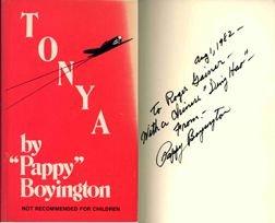 7100: Pappy Boyington Autograph