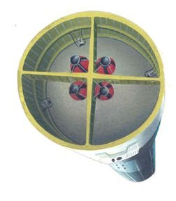 7402: NASA Gemini Spacecraft Animation Cel