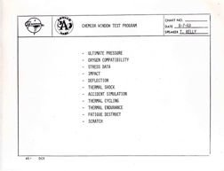 "7524I: 1968, Grumman Apollo 9 ""LM-3 Readiness Test"" D"