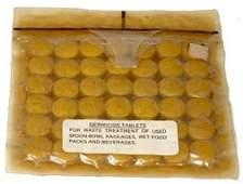 7584E: Apollo Era Germicide Tablets