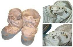 7585D: Apollo A7LB Spacesuit Lunar Overshoe Boots